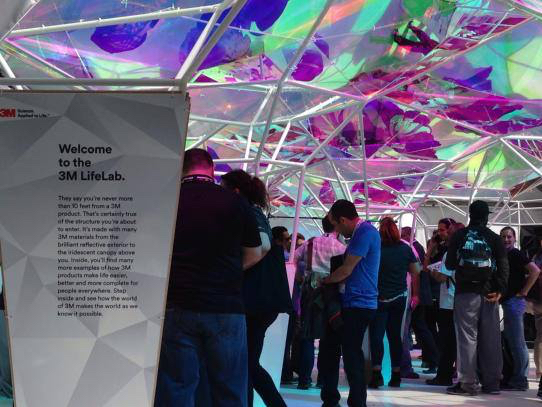 3M Wows the Crowd at SXSW with Dichroic Window Film | Interwest